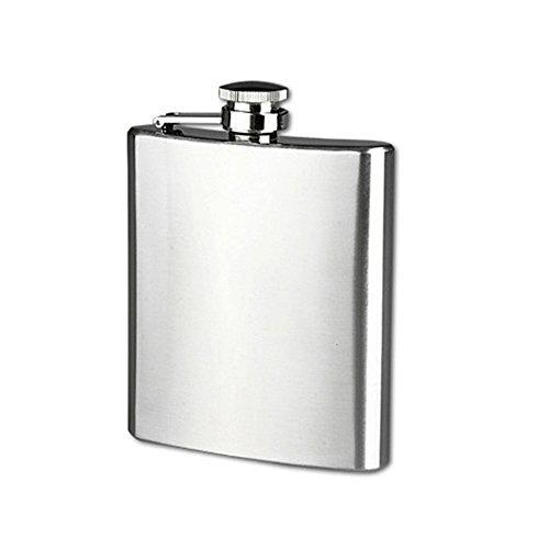jjh Botella de vino 5 7 10 oz botella de whisky de vino botella petaca de acero inoxidable bebedor botella de alcohol recipiente portátil 2021 olla de vino de acero inoxidable (Color: B)