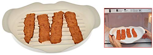 HOME-X Microwaveable Bacon Tray