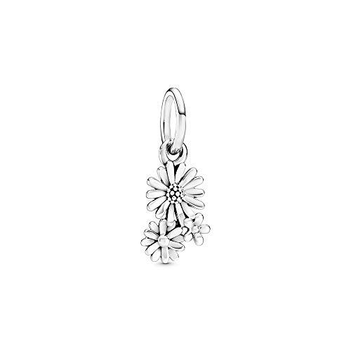 Pandora Gänseblümchen-Strauß Charm-Anhänger, Silber, 1,4cm, 798819C00