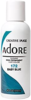 Adore Semi-Permanent Haircolor #172 Baby Blue 4 Ounce (118ml)