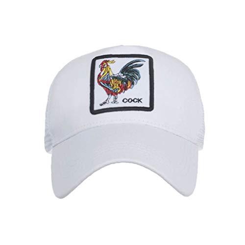 LOPILY Sombrero de Mujer y Hombre Moda Animales Bordado Gorras de béisbol Hip Hop Sombrero Verano Sombreros de Sol Sombrero de ala Ancha Casquillo al Aire Libre La Moda Sombreros Cowboy