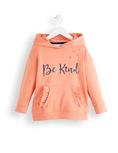 Amazon-Marke: RED WAGON Mädchen Slogan Kapuzenpullover, Pink (Multicolour), 134, Label:9 Years