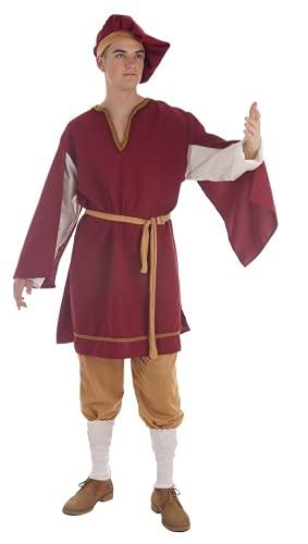 Creaciones Llopis Disfraz de Cortesano Medieval para Hombre