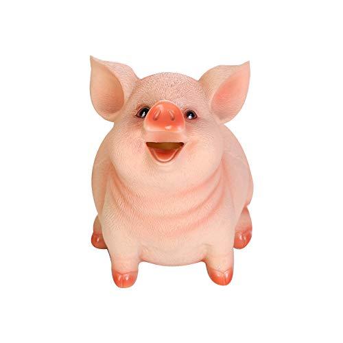 Ruiting Hucha Cerdo Hucha Animal en Forma de Cerdo Lindo Moneda Caja de Dinero Perfcto Regalo para Niños Decoración de Hogar
