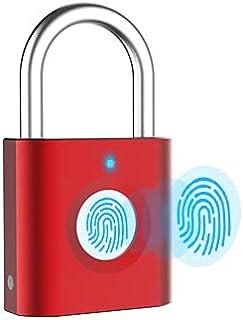 Cadenas empreintes digitales P3 biométrique rechargeable par USB pour casier, sacs à main, golf, armoires, salle de sport,...