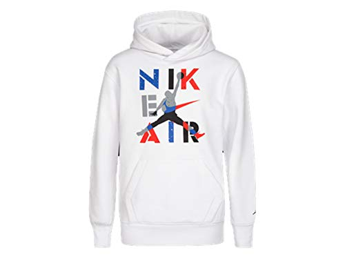 Nike Air Jordan Legacy Retro 4 Hoodie (Medium, White)