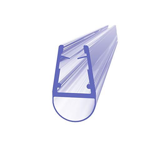 Hausbath 80 cm Sealis Ersatz Duschdichtung - Dichtung für 7-8 mm Glasdicke Duschkabine Wasserabweiser Duschdichtung Schwallschutz Dichtkeder - Transparent