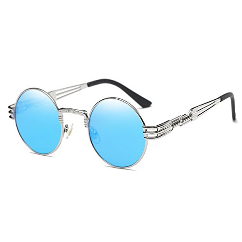 screw detail metal sunglasses - 3