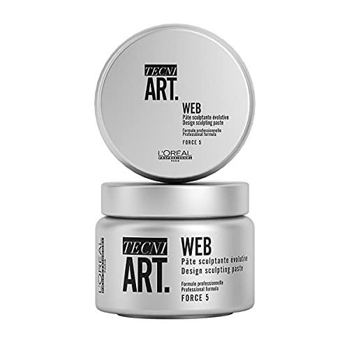 L'Oréal Professionnel Art Force 5 Web Design Sculpting Paste, 5.1 Oz