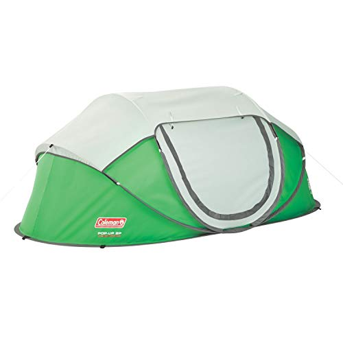 Coleman 2-Person Pop-Up Tent , Green/Grey