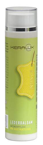 KERALUX Leder Balsam für spröde und trockene Möbel- und Auto- Leder 250 ml