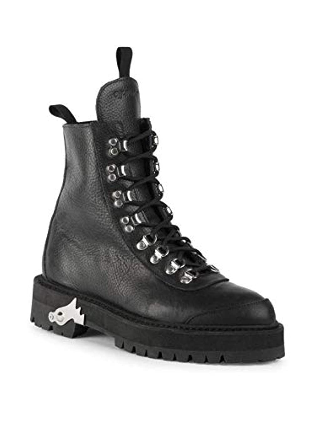 Off-White Leather Hiking Boots Size 41