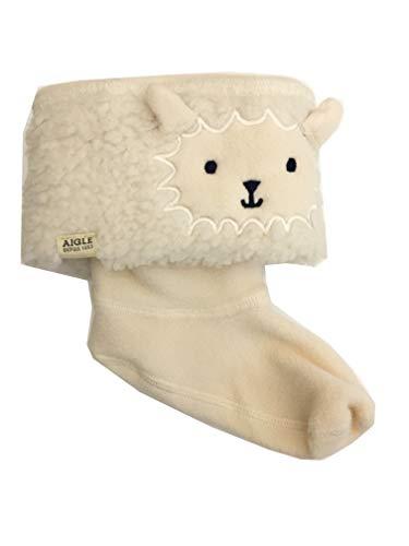 Aigle Lollywarm Fun Kinder Fleece Stiefelsocken Schaf (EU 31)