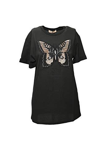 T Shirt Donna Twin Set 192TP2711 Nero Inverno 2019 A/I 2019/20 (S - Nero)