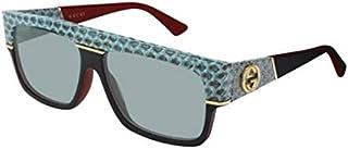 Gucci GG0483S LIGHT GREEN/LIGHT GREEN 60/14/140 men Sunglasses
