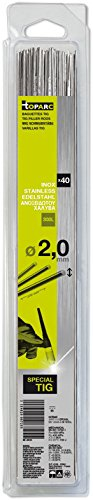 Abratools - Juego varilla gys diámetro 2,0mm inoxidable 308l(blister 40u)
