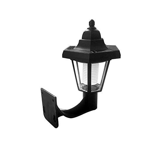 NGHXZ Solar wandlamp, Waterdichte Outdoor LED Lampen, voor Patio Yard, Deck, Veranda, Tuin, Hek