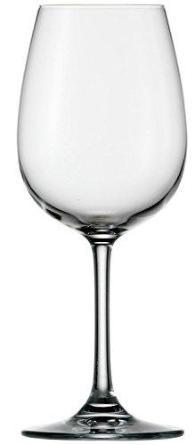 Stölzle Lausitz Weißweingläser Weinland 350ml I Weißweingläser 6er Set I Weingläser spülmaschinenfest I Weißweingläser Set bruchsicher I wie mundgeblasen I höchste Qualität