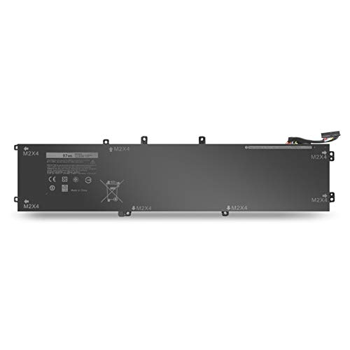 6GTPY Laptop Battery for Dell XPS 15 9570 9560 9550 Precision M5510 M5520 5510 5520 Notebook 5XJ28 - 97Wh 11.4V