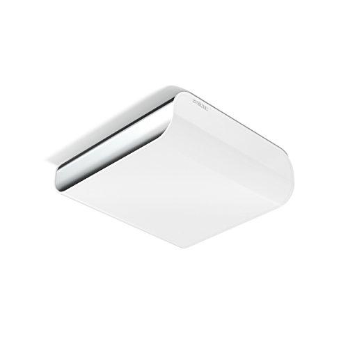 Steinel LED Deckenleuchte RS LED M2 V2 Chrom, 9.5 W LED Wandleuchte, 867 lm, 360° Bewegungsmelder, max. 6 m Reichweite