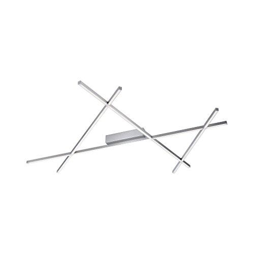 Paul Neuhaus Deckenleuchte Stick 1x LED-Board 38 W, inklusiv Stahl 8052-55