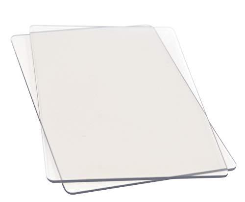 Sizzix Big Shot Schneideplatten Standard, 2 Stück, 22,2x15,6x0,3cm