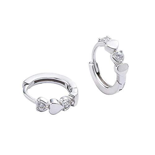 Earrings, hook, pendant, decoration, buckle, jewelry, accessories 925 sterling silver ferranular diamond