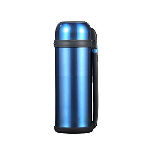 Miao. Draagbare vacuüm-jug – roestvrij staal 304 thermoskan – 48 uur warmte en koude opslag thermoskan – voor thuis, kantoor, outdoor, sportfles