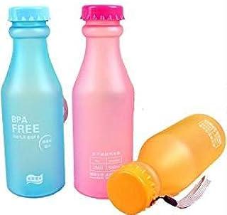 SayHia Botella de Agua Deportiva Libre de BPA de 550 ml de 3