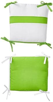 Baby Doll Bedding Junior Rocking Chair Cushion Pad Set for Child/Toddler Rocker Green Apple