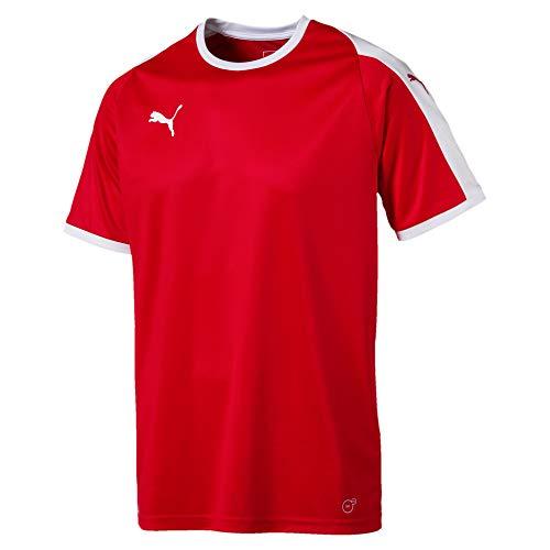 PUMA Men's LIGA Jersey, red White, L