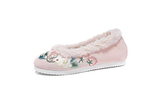Lazutom - Zapatos para Mujer, Estilo Chino, Bordados, Hanfu, para Disfraz, para...