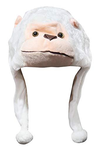 Petitebelle Chapeau de gorille blanc - Blanc - Taille unique