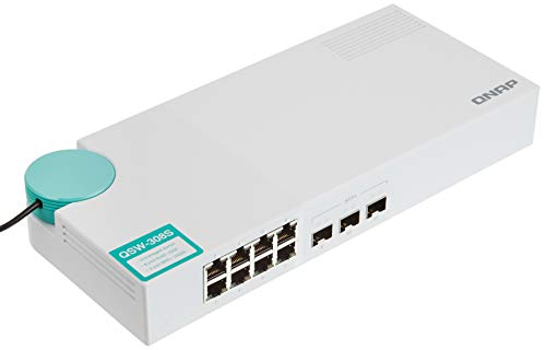switch multigigabit de la marca QNAP