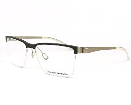 Mercedes-Benz Brillengestelle M2048 Monturas de gafas, Marrón (Braun), 55.0 para Hombre