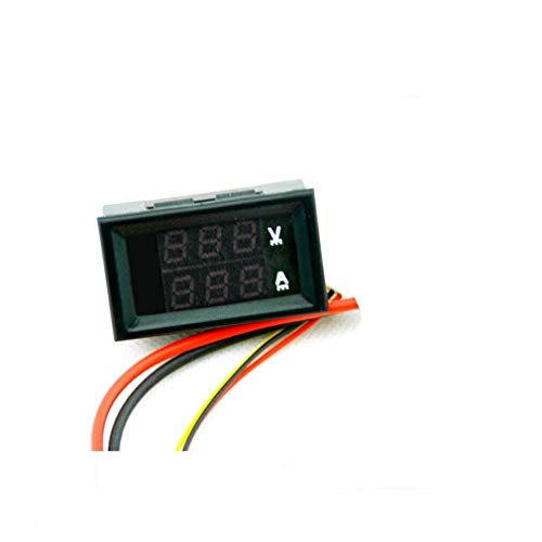 Check Out This ARCELI DC 4-Bit Dual Display LED Digital Voltage Ammeter Dual Display Head DC0-200V 1...