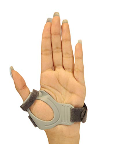 CMC Joint Thumb Arthritis Brace - Restriction Stabilizing Splint for Osteoarthritis and Other Thumb Pain Relief - Small - Left Hand