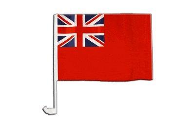 Digni Drapeau de Voiture Royaume-Uni Britannique pavillon Marchand Red Ensign - 30 x 40 cm