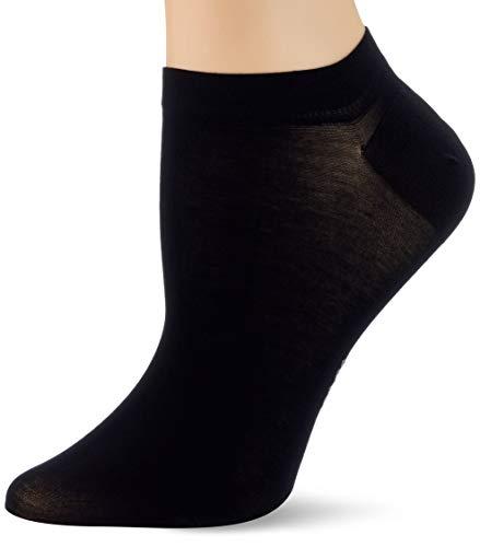 FALKE Damen Fine Softness W SN Socken, Schwarz (Black 3009), 35-38 (UK 2.5-5 Ι US 5-7.5)