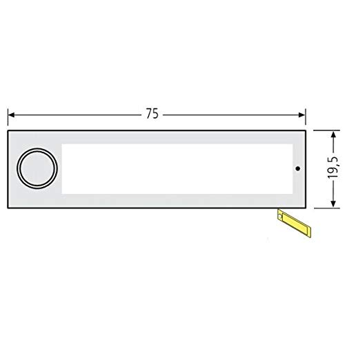 RENZ RSA2 kompakt Namensschildabdeckung 97-9-85339