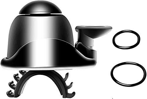 Poweka - Bocina para patinete eléctrico AVCE con anillos de goma para...