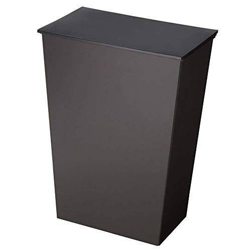 ゴミ箱 おしゃれ ダストボックス 45L 分別 北欧 「 kcud ワイド」 横型 ダストボックス ごみ箱 ふた付き キッチン ブラック