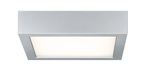 Paulmann Ceiling Lamp, Space LED Panel 11W Chrome Matt, White, Plastic