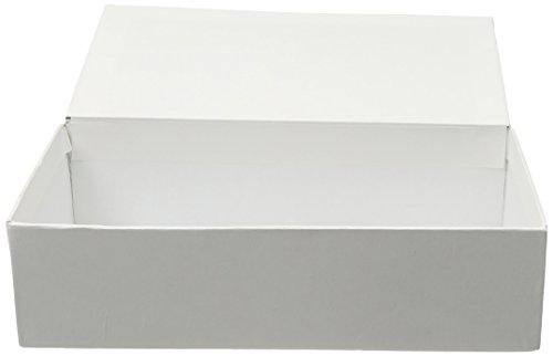 Darice White, Ready to Decorate School Box, 8.625 x 5 x 2.25 inches