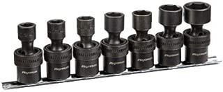 MAXIMUM 3/8-in Drive Swivel Impact Socket Set, Metric, 7-pc