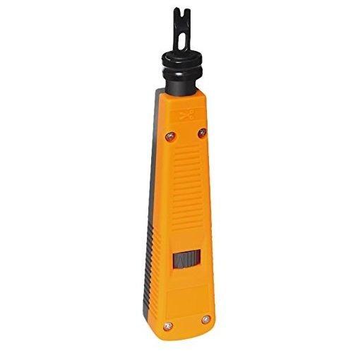 Insertadora tipo 110 para montaje 110 IDC o DUAL IDC amarillo, Cablepelado