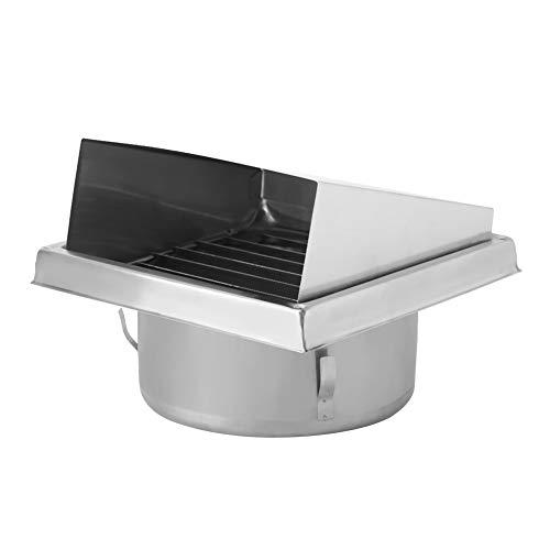 Yencoly Salida de Aire Cuadrada, ventilación de Aire Resistente al envejecimiento Resistente a la corrosión, no tóxico para el apartamento