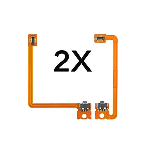 2X L R Left Right Shoulder Trigger Button Switch Connector Module Flex Cable Replacement Compatible with Nintendo 3DS XL (not fit 3DS)