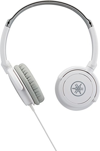 YAMAHA HPH-100WH Cuffie Sovraurali, Cuffia On Ear con Meccanismo Girevole 90°, Leggere e Confortevoli, Suono Dinamico di qualità, Adatte per Strumenti Musicali Digitali, Bianco