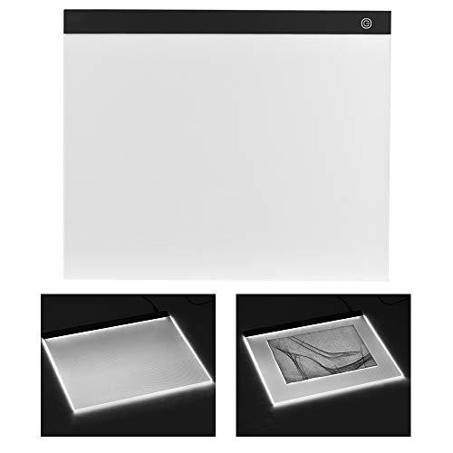A3 grande taille boîte à lumière LED Artcraft Tracer la lumière Pad Stepless Gradation Pad protection des yeux